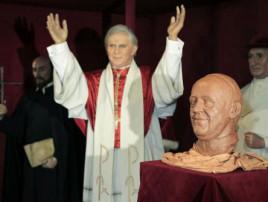Museo de cera Papa Francisco