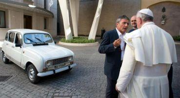 Renault del Papa Francisco