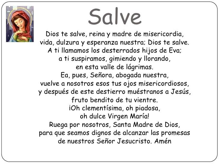 salve religion catolica