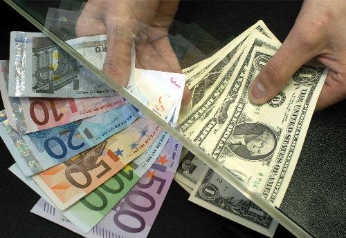cambio de dolares a euros
